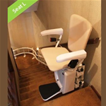 Savaria Stairfriend Curved Stairlift - The NEW Savaria Stairfriend stairlift can eliminate the barri